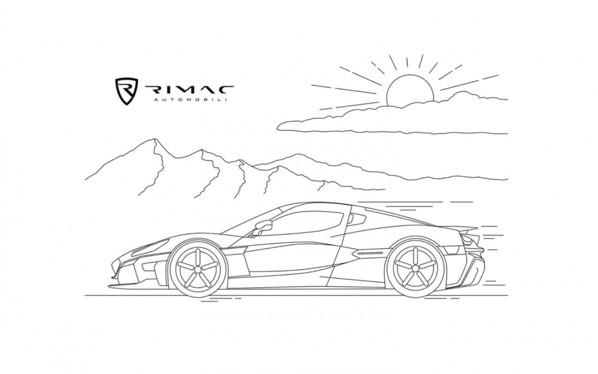 C-Two Rimac Colouring Challenge